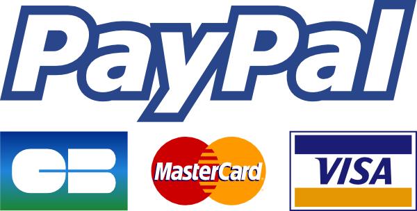 Logo paiement sécurisé en ligne Paypal